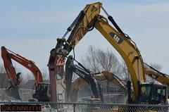 digging brands (Kennuth) Tags: caterpillar machinery heavyequipment hitachi johndeere unlimitedphotos