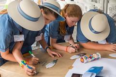 Creating new ideas (Brisbane City Council) Tags: people kids children schoolchildren schooluniform greenheart worldsciencefestival schoolagechildren futurebnechallenge greenheartschools