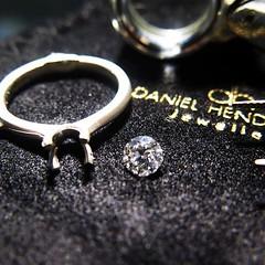 We are working hard...As usual (dhjewellers) Tags: scotland edinburgh diamond proposal platinum weddingplanning threestone edinburghjewellers edinburghproposal