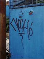 Noch (Alex Ellison) Tags: urban graffiti boobs tag shoreditch graff irp eastlondon noch htb