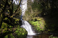 Brecon Waterfall (Gavmonster) Tags: longexposure trees sky white mountains green water wales clouds landscape waterfall nationalpark moss nikon rocks outdoor tripod wideangle breconbeacons land milky polarisingfilter 1024mm d7000 nikond7000 gswphotography