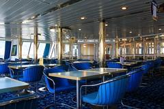 Blue (demeeschter) Tags: sea italy harbour corsica ferries vado ligure