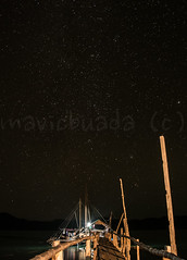 A multitude of stars (mavicbuada) Tags: longexposure bridge stars boat philippines woodenbridge palawan starrynight bulwang taophilippines taoexpedition