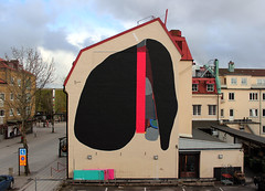 108 - Trollhttan - 2016 (108 is NIHIL) Tags: street new 3 abstract black tree art public colors wall graffiti triangle noir arte sweden contemporary kunst paintings konst spiritual scandinavia mur wallpainting shamanic 108 painture astratta  irregular abstrait  nuovo contemporneo celf contemporanea sanat  pyrmid abstractism   suprematism pubblica colorchart trollhattan zeitgenssische astrattismo    sztuka  suprematismo  umjetnost  ada kunsti    wspczesna   samtida  suvremena    kaasaegse nykytaidetta  gyfoes