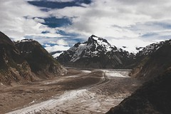Ice (- Anthony Papa -) Tags: blue trees sky snow mountains film ice beautiful alaska clouds america canon vintage landscape amazing north glacier juneau fujifilm dslr height matte anthonypapa