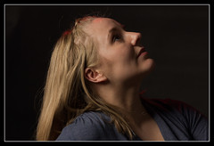 A very special lady (Audrey A Jackson) Tags: lighting portrait woman beauty face closeup lady hair studio glamour blonde goddaughter canon60d