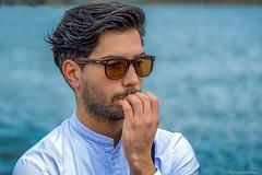 Meditate (Weitenberg.....) Tags: amsterdam nikon bril handsomeboy d800 denken ingedachten peinzen mooiboy