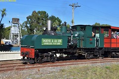 DS_Train_2_McLeansIsland_09April2016 (nzsteam) Tags: price train island traction engine railway scene steam engines locomotive boiler boilers mcleans sawmilling