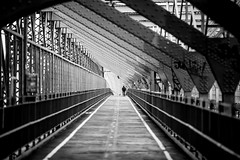 Williamsburg Bridge (Thomas Hawk) Tags: newyorkcity bridge bw newyork architecture unitedstates fav50 manhattan unitedstatesofamerica williamsburgbridge fav10 fav25 fav100