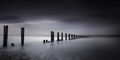 Minnis Bay (richard carter...) Tags: longexposure seascape kent dusk groyne zeissdistagon minniebay cabnoneos5dsr