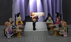 LEGO Dirty Dancing Theatre Scene (AzureBrick) Tags: show baby west theater lego dancing theatre patrick dirty musical end swayze