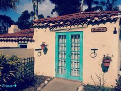 Scotland in California !! (France-) Tags: door house scotland sandiego porte maison balboapark californie