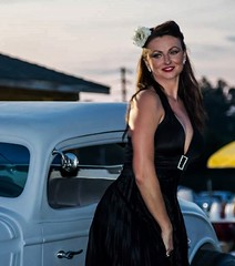 12313565_10208282930095626_3239874502917869422_n (fotodan57) Tags: portrait people black cute sexy classic beautiful smile face car canon pose fun skinny outside outdoors nice model alley friend long dress legs sweet country young longhair posing 7d hotrod brunette browneyes milf pinup carshow mkii markii heals llens greatbody greateyes nicebreasts nicehooters