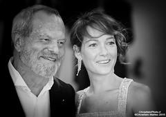 Terry Gilliam, Cristiana Capotondi (ChinellatoPhoto) Tags: venice portrait cinema movie actress actor director venezia ritratto attore attrice regista venicefilmfestival mostradelcinemadivenezia