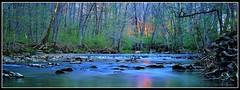 On Clifty Creek (J Michael Hamon) Tags: camera longexposure panorama nature water creek 35mm lens landscape outdoors spring nikon stream widescreen border indiana april nikkor waterscape hamon d3200 photoborder