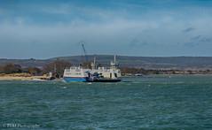 Sandbanks Ferry (p.dimarco34) Tags: sea ferry clouds sand rough sandbanks