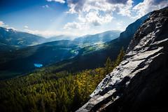 Ruina Belmont (brue') Tags: light sky sun landscape schweiz switzerland ray view suisse svizzra belmont ruine ruina svizzera landschaft flims trin graubnden grisons imboden