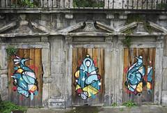 Street art in Porto, Portugal (jackie weisberg) Tags: streetart art portugal graffiti graphic eu popart porto graffito artful jackieweisberg