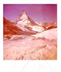 gornergrat (thomasw.) Tags: schnee snow analog polaroid schweiz switzerland europa europe suisse suiza zermatt expired pola roidweek