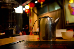 Mystery Teapot (Aestheticshots) Tags: shadow urban reflection mystery night dark chinatown spirit ghost chinese perth teapot darkart hangingman fujifilmx100s aestheticshots ineesting