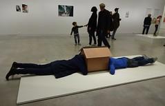One Minute Sculptures: Beichtstuhl (jusan) Tags: art exhibition erwinwurm berlinischegalerie oneminutesculptures beimutti