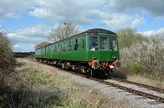 Class 119 DMU. 17-04-2016 (*Steve King*) Tags: swindon railway class preserved 119 51104 cricklade dmu 51074