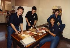 Engine 82 and crew Circa 1988