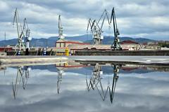 Leioako Itsasadarretik (Saioa Elizondo) Tags: reflection reflex bilbao reflejo bizkaia ria basquecountry fotografa ibaia leioa argazkia itsasadar udondo