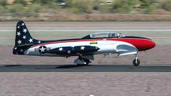 Canadair CT-33 Mk. 3 Silver Star RCAF 21024 N230CF (ChrisK48) Tags: airplane aircraft lockheed silverstar dvt phoenixaz shootingstar t33 ct133 kdvt phoenixdeervalleyairport n230cf nx230cf classicfightersofamerica canadairct33mk3 rcaf21024 cnt3324