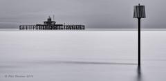 Pier Head (Phil Bloxham) Tags: longexposure bw landscape mono coast kent decay shore hernebay leefilters bigstopper