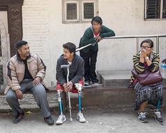 """He is ever the optimist"" (Handicap International UK) Tags: nepal earthquake kathmandu survivors disability"