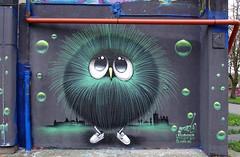 Graffiti (Bilderschreiber) Tags: art wall painting graffiti eyes wand kunst augen augsburg malerei