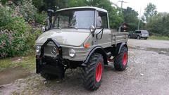 Unimog (Vehicle Tim) Tags: truck mercedes wald mb unimog lkw laster seilwinde pritsche