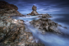 Tumulte Rocheux @Banyuls (Benjamin MOUROT) Tags: longexposure france nature rock french landscape view pov paysage lente francia rochers languedocroussillon filtre banyuls pyrnesorientales poselongue nd1000 leefilter nd110 retardateur photoshopcs3 1018mm faguo canon70d benjaminmourot lightroom5 capdecastell