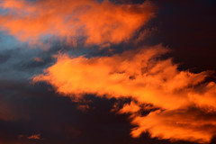 Evening colors (Ib Aarmo) Tags: sky cloud nature colors clouds skies outdoor
