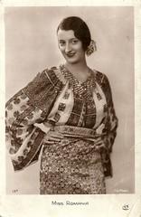 Miss Romania 1931 (Truus, Bob & Jan too!) Tags: beauty fashion female vintage 1930s postcard contest moda beauté miss pageant concours mode bellezza schönheit wettbewerb feminin concorso weiblich femminile misseurope