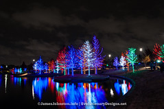 Christmas Lights in Vitruvian Park in Addison, Texas (element321) Tags: texas addision chrismaslights vitruvianpark