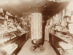 General Store Interior, with Postcard Rack