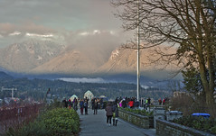 prospect point stanley park (yuanxizhou) Tags: winter mountain snow vancouver britishcolumbia stanleypark prospectpoint christmasday landscapephotography