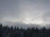 clouds parting to show the mountains (Gillian Walker) Tags: park kananaskis skiing crosscountry peter alberta lougheed