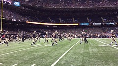 NOSaintswarmingup2 (MetrohicKS) Tags: football neworleans saints superdome metrohicks