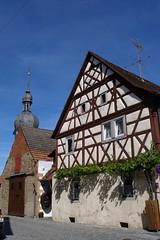 Prichsenstadt, Fachwerkhuser (palladio1580) Tags: bayern haus franken fachwerk unterfranken prichsenstadt landkreiskitzingen