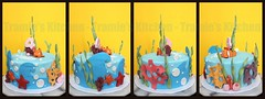Nemo birthday cake (Tramie's Kitchen) Tags: cake nemo fondant