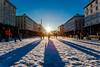 Januar (kjelljoran) Tags: winter shadow sun sol norway norge vinter shadows january norwegen bergen hordaland januar torgallmenningen skygger