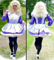Coming and going (jensatin4242) Tags: sissy transvestite maid crossdresser petticoat sissymaid jensatin
