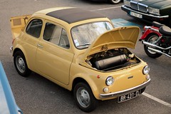 Fiat Nuova 500 F (seb !!!) Tags: auto old italy france classic cars coffee car yellow jaune canon photo italian automobile italia foto image fiat picture voiture amarillo amarelo gelb giallo f hood 500 seb bild oldtimers italie imagen capot imagem nuova ancienne automvil populaire classique anciennes wagen automobil capucha youngtimers 2015 automvel italienne cap chambourcy cappuccio klassic 1100d abzugshaube