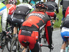 Spray Spattered (mdavidford) Tags: rain sport race cycling spray waterproof bushmills stage2 peloton rainjacket giroditalia bmcracingteam whiteparkroad danieloss