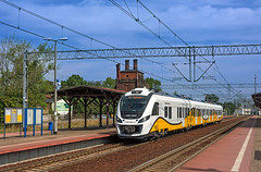 PKP 31WE 005 (maurizio messa) Tags: railroad polska railway trains railcar polen bahn polonia mau impuls 140 treni pkp newag dolnolskie dolnylsk elettromotrice przewozyregionalne triebzuge nikond7100 31we newagimpuls os69571