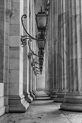 Columns of justice. Denver, Colorado.