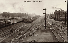 Railroad Yards at Portage